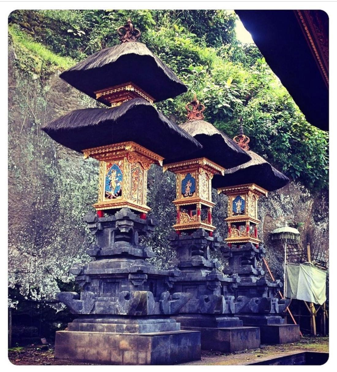 Goa-Gajah (Elephant Cave) Temple Grounds