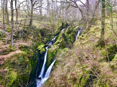 Stockghyll Waterfalls